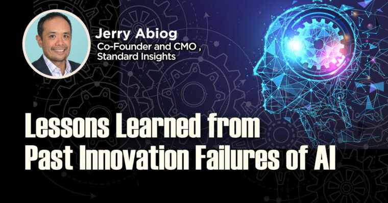 Lessons Learned from Past Innovation Failures of AI