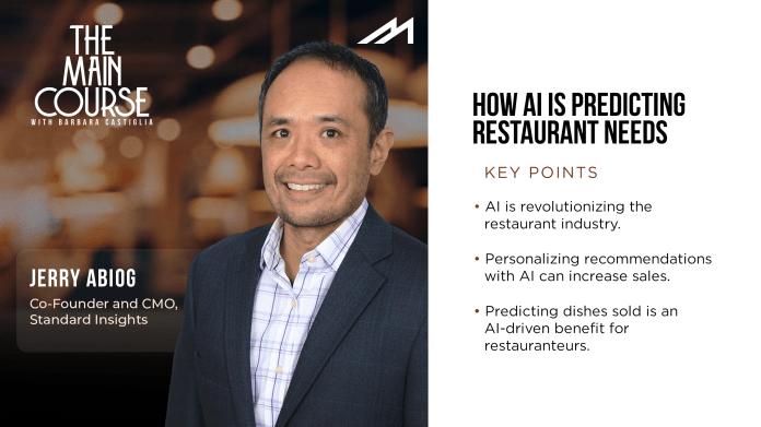 Predicting Restaurant Needs Through AI